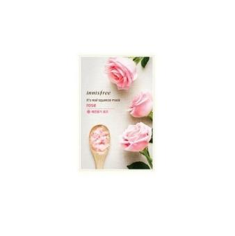 Harga Innisfree Its Real Squeeze Mask - Rose