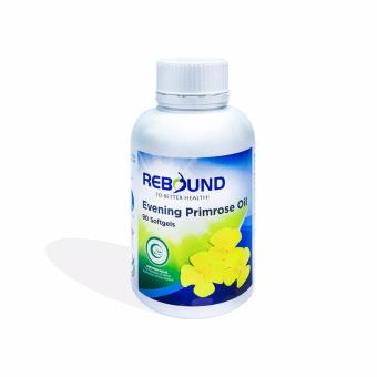 Harga Rebound Evening Primrose Oil 1000mg 90 Soft Gels - Contains GLA to promote overall well-being