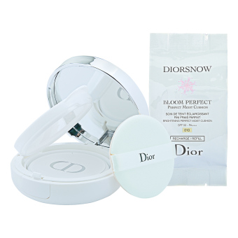 Harga Christian Dior DiorSnow Bloom Perfect Brightening Perfect Moist Cushion SPF50- PA+++ 2 x 15 g (# 010)