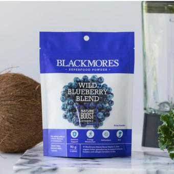 Blackmores Superfood Powder Wild Blueberry Blend + Nature Boost Vitamin C 90g