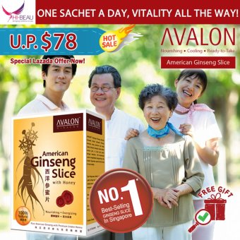 Harga AVALON American Ginseng Slice with Honey