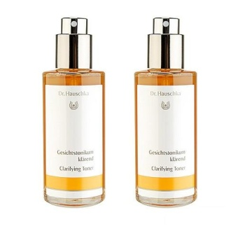 Harga 2 x Dr. Hauschka Clarifying Toner (For Oily or Blemished Skin) (New Version) 100ml - intl