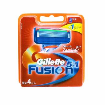 Harga Gillette Fusion Cartridge 4s (Japanese)