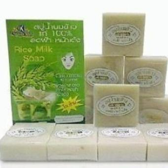 Harga Original K Brothers Rice Milk Soap from Thailand
