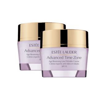 Harga Estee Lauder Advanced Time Zone Age Reversing Wrinkle Creme 15ml x 2