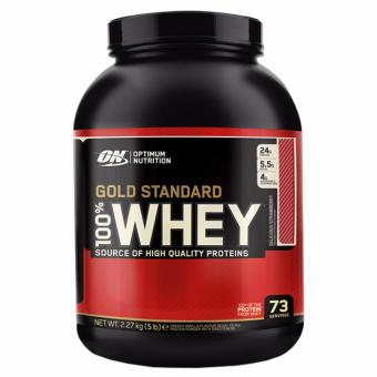 Harga Optimum Nutrition Gold Standard 100% Whey (5lbs) - Strawberry
