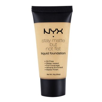 Harga NYX Stay Matte But Not Flat Liquid Foundation SMF07 Warm Beige