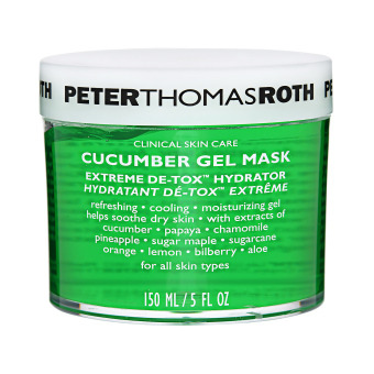 Harga Peter Thomas Roth Cucumber Extreme De-Tox Gel Mask Hydrator (For All Skin Types) 5oz, 150ml