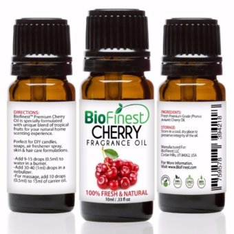 Harga Biofinest Cherry Fragrance Oil (100% Fresh and Natural Aroma Oil) 10ml