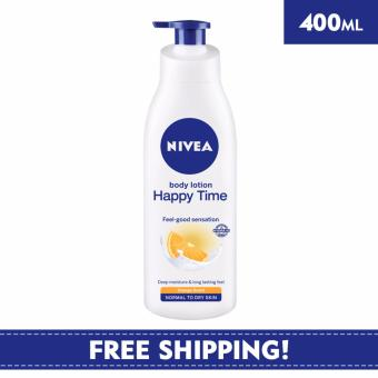 Harga Nivea Body Care Unisex Lotion Happy Time Body Lotion 400ml