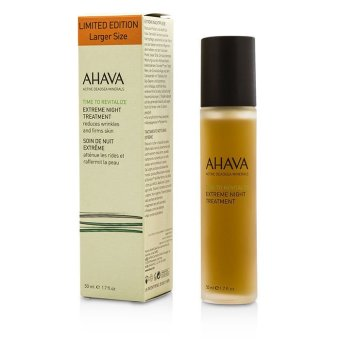 Harga Ahava Time To Revitalize Extreme Night Treatment (Limited Edition) 50ml/1.7oz (EXPORT)