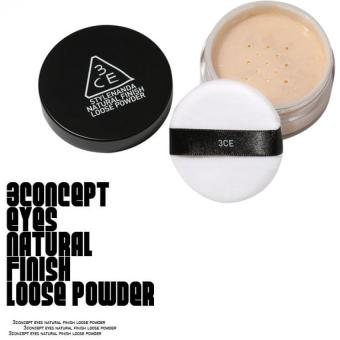 Harga 3CE NATURAL FINISH LOOSE POWDER#001