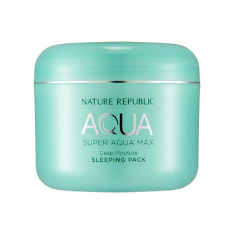 Harga Super Aqua Max Deep Moisture Sleeping Pack