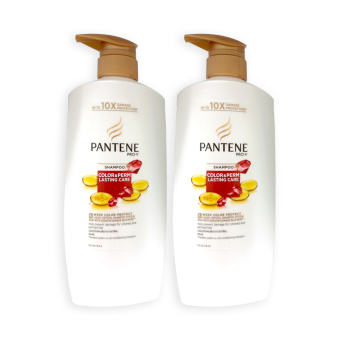 Harga Pantene Color and Perm Lasting Care Shampoo 670ml x 2 Bottles - 3702