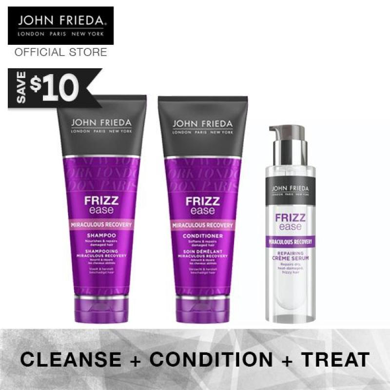 Buy John Frieda Frizz Ease Miraculous Recovery Complete Set 1 (+ Cr�me Serum) Singapore