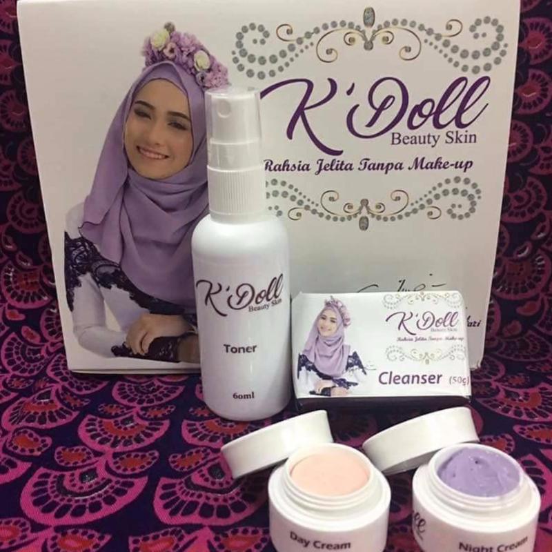 Buy KDOLL 4 In 1 Beauty Skin Facial Set (Fairer Whiter Skin In Days) Singapore