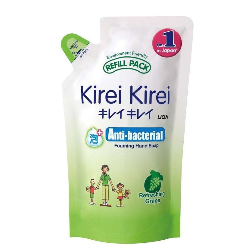 Buy Kirei Kirei Anti-Bacterial Foaming Hand Soap Refill 200Ml (Refreshing Grape) Singapore