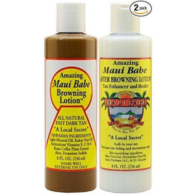Buy Maui Babe Before and After Sun Pack (Browning Lotion 8 oz, After Browning Lotion 8 oz) Singapore