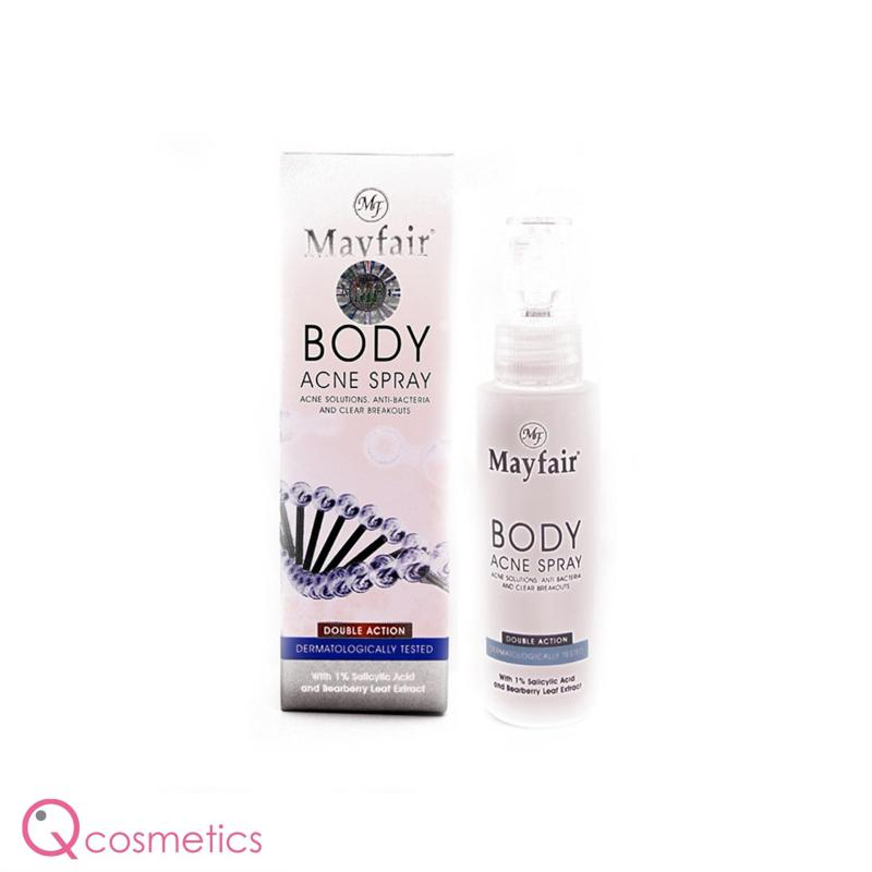 Buy Mayfair Body Acne Spray 50ml Singapore