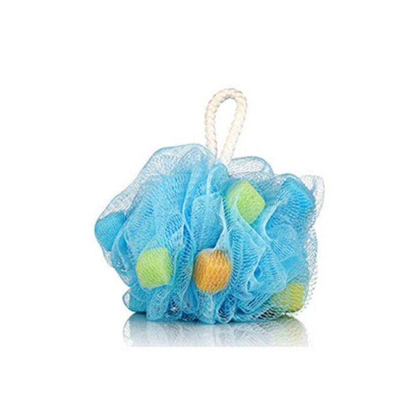 Buy Mesh Bath Sponge Flower Milk Shower Exfoliating - intl Singapore