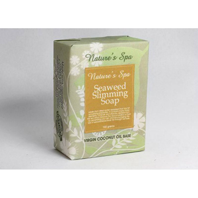 Buy Natures Spa Seaweed Slimming Natural Bar Soap 100g Singapore