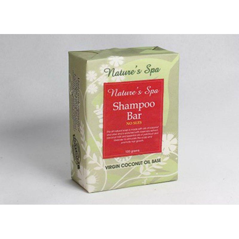 Buy Natures Spa Shampoo Bar 100g Singapore