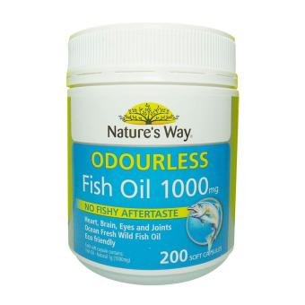 Harga Nature's Way Odourless Fish Oil 1000mg 200 Capsules