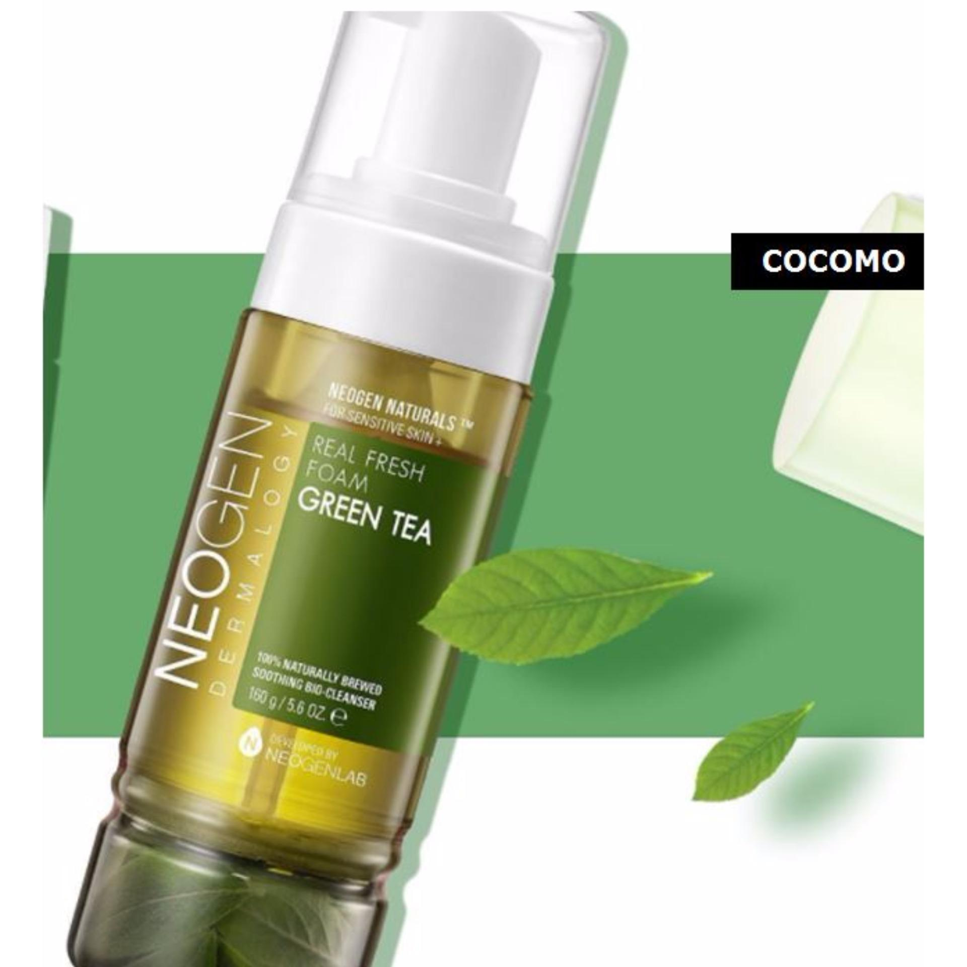 Green Tea Real Fresh Foam Cleanser by neogen dermalogy #16