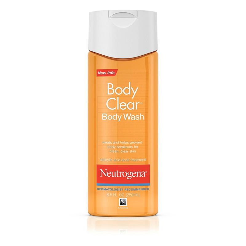 Buy Neutrogena Body Clear Body Wash, Salicylic Acid Acne Treatment, 8.5 Fl. Oz./250 ml Singapore