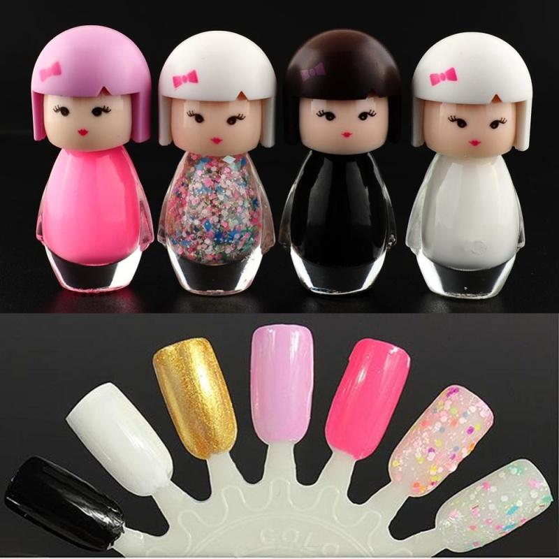Buy New Baby Doll Acrylic Nail Art Polish Bright Glitter Varnish Beauty Makeup Tool - intl Singapore