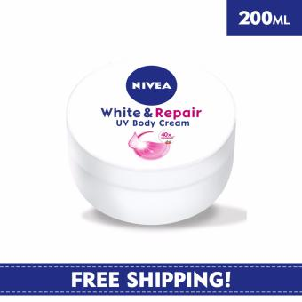 Nivea Body Care Unisex Cream White & Repair UV Body Cream 200ml
