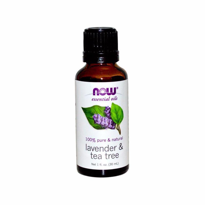 Buy Now Foods Essential Oils, Lavender & Tea Tree, 1 fl oz (30 ml) Singapore