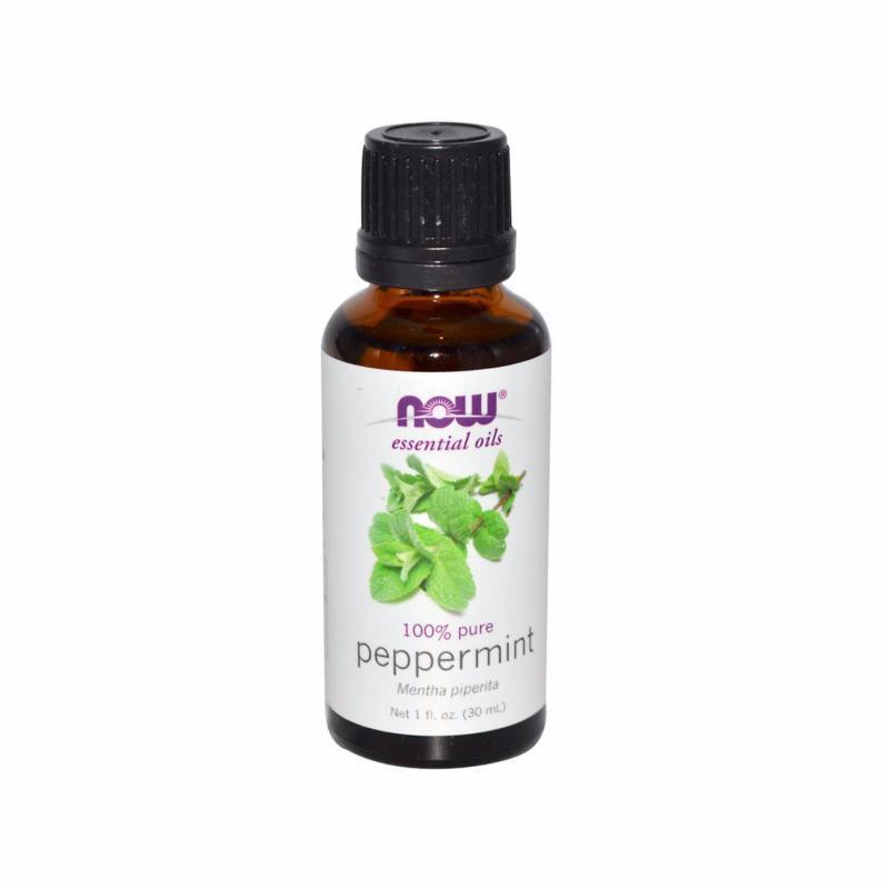 Buy Now Foods Essential Oils, Peppermint, 1 fl oz (30 ml) Singapore