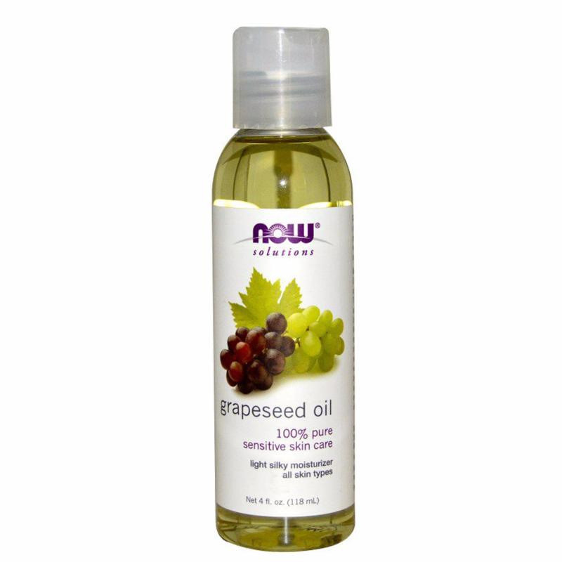 Buy Nowfoods Grapeseed Oil (100% Pure) 4Oz/118ml Singapore
