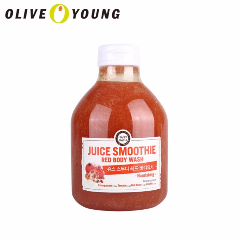 Buy OLIVEYOUNG HAPPYBATH Juice Smoothie Red Body Wash - intl Singapore