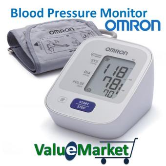 OMRON Blood Pressure Monitor HEM 7121 with AC Adapter