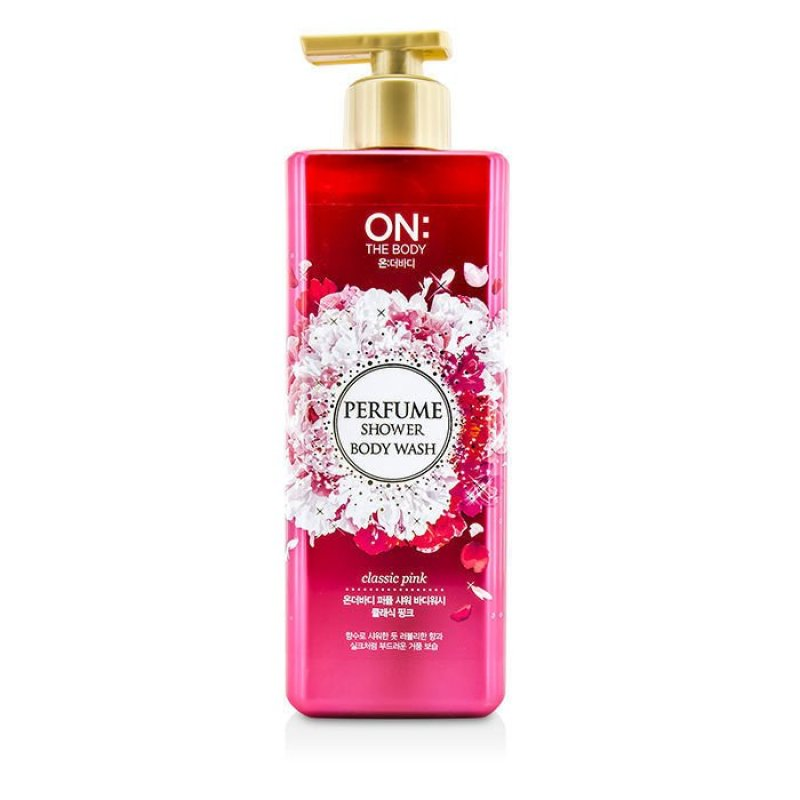Buy On The Body Body Wash Perfume Shower (Pink) 500ml Singapore