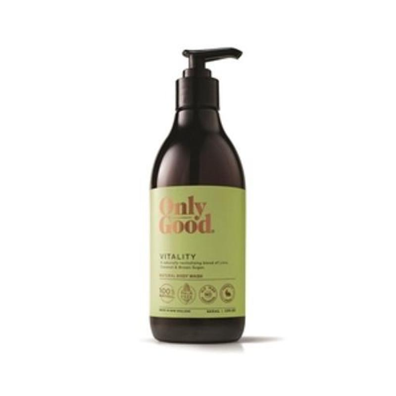 Buy Only Good Vitality Natural Body Wash 445ml Singapore