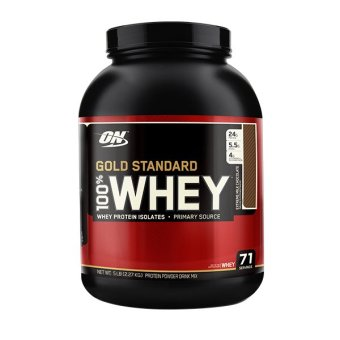 Optimum Nutrition Gold Standard 100% Whey 5 lbs - Extreme MilkChocolate