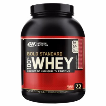 Optimum Nutrition Gold Standard 100% Whey (5Lbs) - Delicious Strawberry