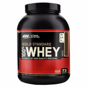 Optimum Nutrition Gold Standard 100% Whey (5lbs) - Double Rich Chocolate