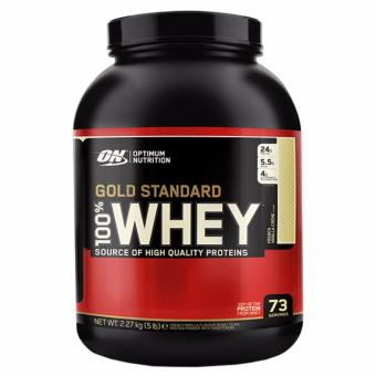 Optimum Nutrition Gold Standard 100% Whey (5lbs) - French Vanilla Creme
