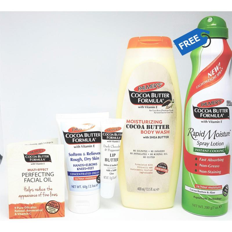 Buy Palmer's Luxurious Cocoa Butter Bundle Pack (FREE Cocoa Butter Aloe Spray) Singapore