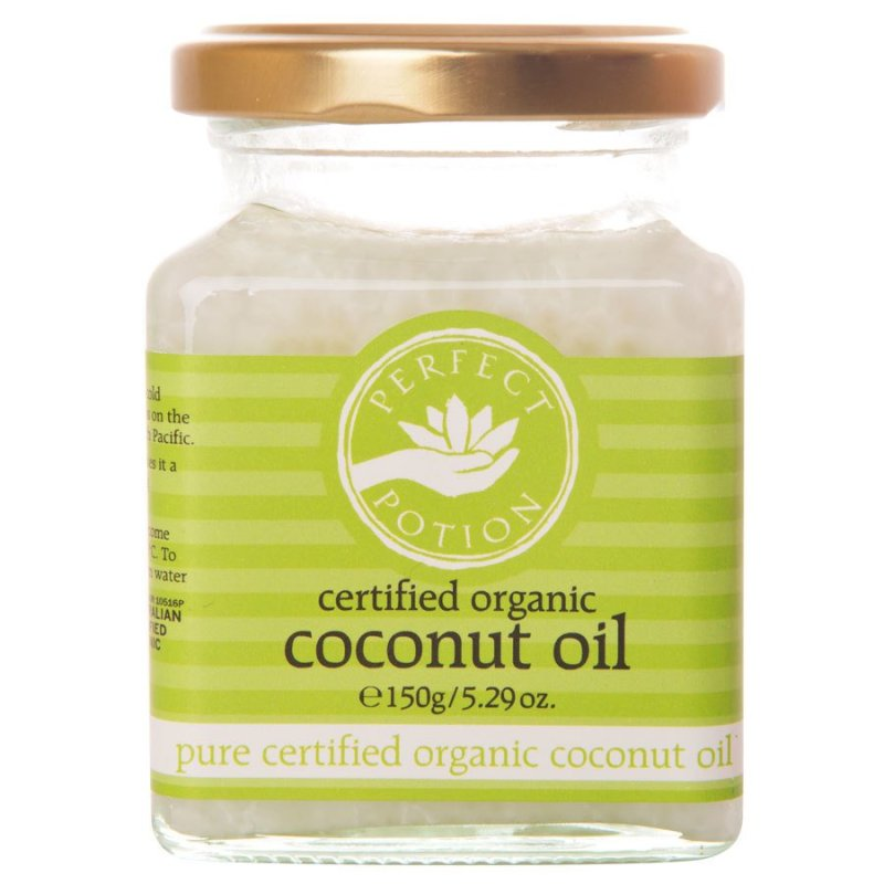 Buy Perfect Potion Certified Organic Coconut Oil 150g/5.29oz Singapore