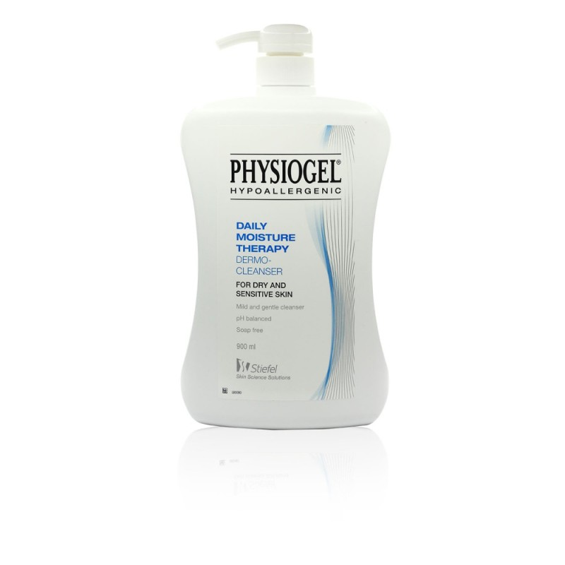 Buy Physiogel Daily Moisture Therapy Dermo-Cleanser 900ml Singapore
