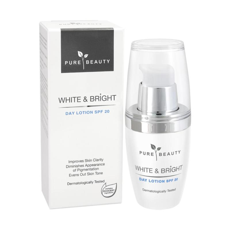 Buy Pure Beauty White & Bright Day Lotion Spf20 50ml Singapore