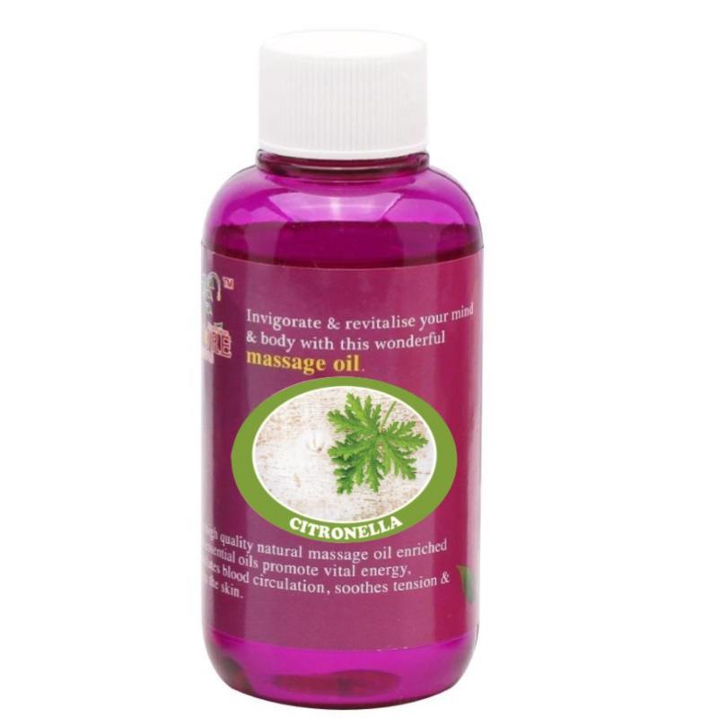 Buy Pure™ Massage Oil 120ml (Citronella) Singapore