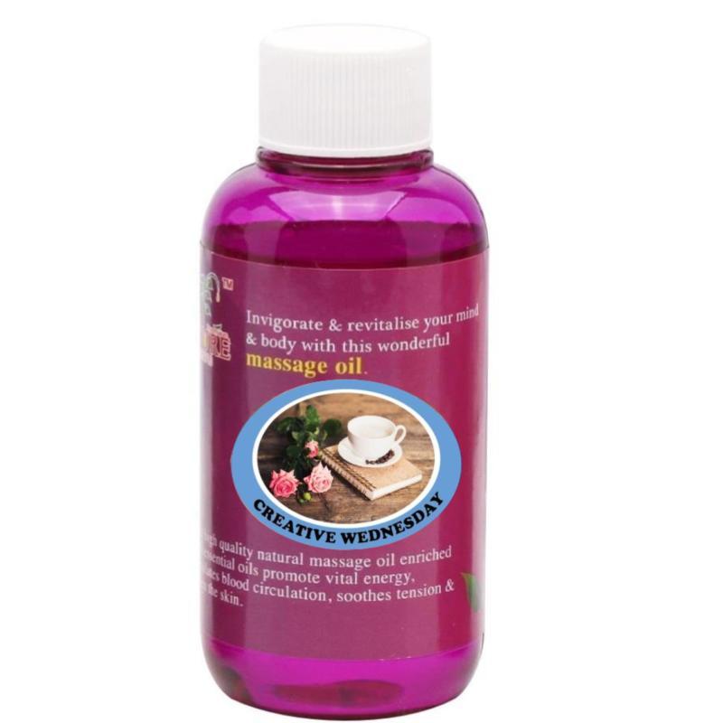 Buy Pure™ Massage Oil 120ml (Creative Wednesday) Singapore