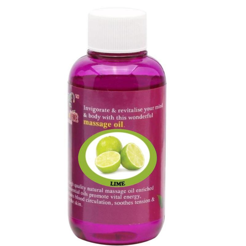 Buy Pure™ Massage Oil 120ml (Lime) Singapore