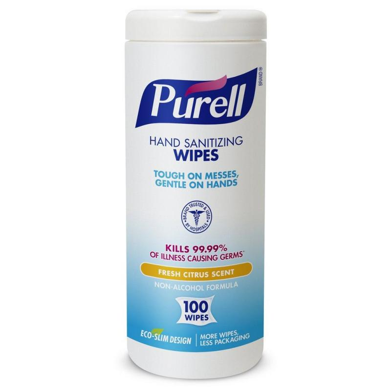 Buy Purell Hand Sanitizing Wipes (Non-Alcohol) - 100 Count Singapore